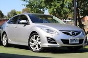 2011 Mazda 6 GH1052 MY10 Luxury Sports Silver 5 Speed Sports Automatic Hatchback Berwick Casey Area Preview