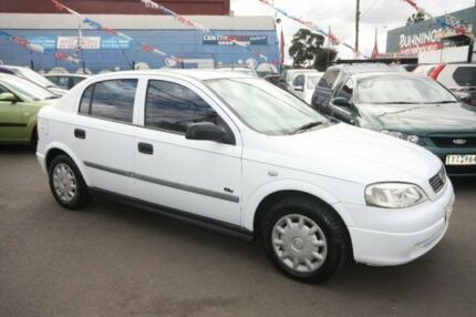 2000 Holden Astra TS MY2001 City White 4 Speed Automatic Hatchback