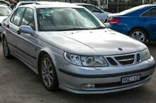 2002 Saab 9-5 MY2002 Aero Silver 5 SPEED Automatic Sedan Melbourne CBD Melbourne City Preview