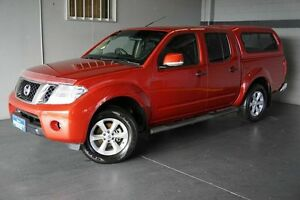 2012 Nissan Navara D40 MY12 ST (4x4) Red 6 Speed Manual Dual Cab Pick-up Woodridge Logan Area Preview