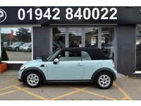 2011 61 MINI CONVERTIBLE 1.6 ONE (PEPPER) 2D 98 BHP 6SP SPORTY CONVERTIBLE,BLUE