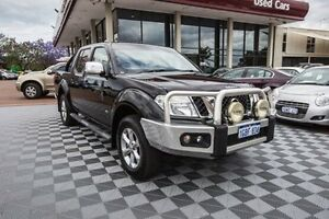 2012 Nissan Navara D40 S5 MY12 ST-X 550 Black 7 Speed Sports Automatic Utility Alfred Cove Melville Area Preview