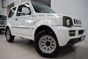 2008 Suzuki Jimny SN413 T6 White 5 Speed Manual Hardtop Launceston Launceston Area Preview
