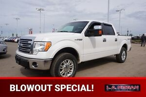 2013 Ford F-150 4X4 SUPERCREW LARIAT Navigation (GPS),  Leather,