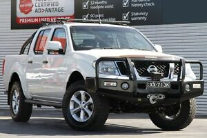 2012 Nissan Navara D40 S6 MY12 ST White 6 Speed Manual Utility Adelaide CBD Adelaide City Preview