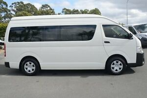 2015 Toyota Hiace TRH223R Commuter High Roof Super LWB White 6 Speed Automatic Bus Acacia Ridge Brisbane South West Preview