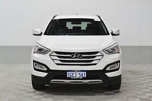 2014 Hyundai Santa Fe DM Active CRDi (4x4) White 6 Speed Automatic Wagon Jandakot Cockburn Area Preview