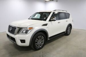 2018 Nissan Armada AWD PLATINUM DUAL DVD, HEATED SEATS, SUNROOF,