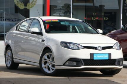 2013 MG MG6 IP2X GT S White 5 Speed Manual Hatchback