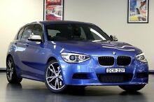 2012 BMW M135i F20 Steptronic Blue 8 Speed Sports Automatic Hatchback North Willoughby Willoughby Area Preview