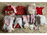 Baby Girl Bundle 0-3 months (Over 100 Items!)