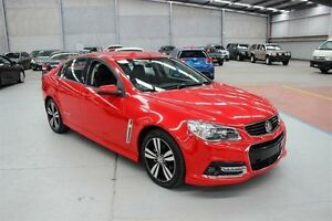 2015 Holden Commodore VF MY15 SV6 Storm Red 6 Speed Sports Automatic Sedan Maryville Newcastle Area Preview