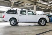 2014 Nissan Navara D40 MY12 Upgrade ST (4x4) White 5 Speed Automatic Dual Cab Pick-up Cannington Canning Area Preview