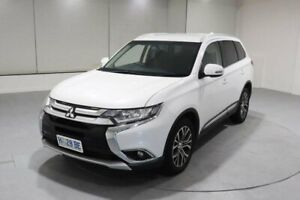 2017 Mitsubishi Outlander ZK MY17 LS 4WD White 6 Speed Constant Variable Wagon Invermay Launceston Area Preview