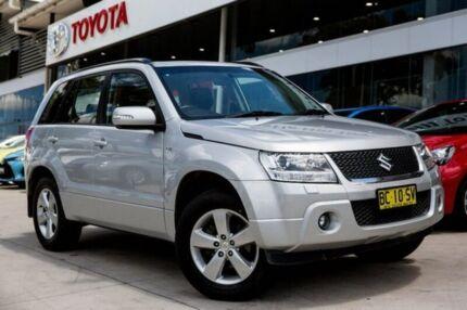 2008 Suzuki Grand Vitara JB MY09 Prestige Silver 5 Speed Automatic Wagon