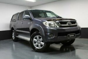 2011 Toyota Hilux KUN26R MY10 SR5 Grey 4 Speed Automatic Utility