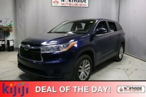 2015 Toyota Highlander AWD LE Bluetooth,  A/C,