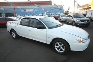 2003 Holden Crewman VY II White 4 Speed Automatic Utility Kingsville Maribyrnong Area Preview