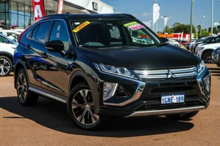 2018 Mitsubishi Eclipse Cross YA MY18 LS 2WD Black 8 Speed Constant Variable Wagon Cannington Canning Area Preview