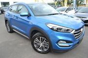 2017 Hyundai Tucson TL MY17 Active X 2WD Blue 6 Speed Sports Automatic Wagon Hoppers Crossing Wyndham Area Preview