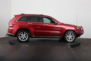 2013 Jeep Grand Cherokee WK MY14 Summit (4x4) Burgundy 8 Speed Automatic Wagon McGraths Hill Hawkesbury Area Preview