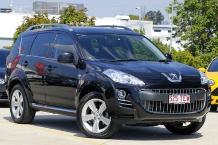 2012 Peugeot 4007 MY12 SV DCS Auto HDi Black 6 Speed Sports Automatic Dual Clutch Wagon