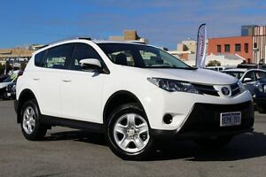2014 Toyota RAV4 ZSA42R MY14 GX 2WD White 7 Speed Constant Variable Wagon Northbridge Perth City Area Preview