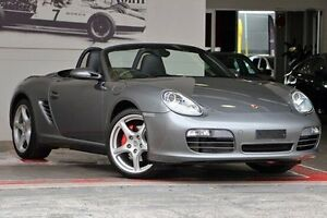 2008 Porsche Boxster 987 MY08 S Grey 6 Speed Manual Convertible Doncaster Manningham Area Preview
