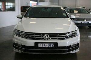 2016 Volkswagen Passat 3C (B8) MY16 140TDI DSG Highline White 6 Speed Sports Automatic Dual Clutch Frankston Frankston Area Preview