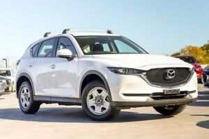 2017 Mazda CX-5 KF2W7A Maxx SKYACTIV-Drive FWD White 6 Speed Sports Automatic Wagon Liverpool Liverpool Area Preview