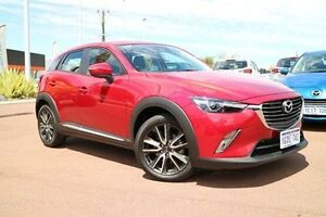 2016 Mazda CX-3 DK4WSA Akari SKYACTIV-Drive AWD Red 6 Speed Sports Automatic Wagon Wilson Canning Area Preview