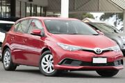 2017 Toyota Corolla ZRE182R Ascent S-CVT Wildfire 7 Speed Constant Variable Hatchback Christies Beach Morphett Vale Area Preview