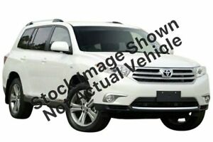 2013 Toyota Kluger GSU45R MY12 KX-S AWD White 5 Speed Sports Automatic Wagon Tuggerah Wyong Area Preview