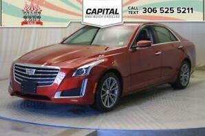 2018 Cadillac CTS Sedan Luxury AWD*NAV*LEATHER*SUNROOF*