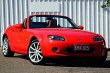 2007 Mazda MX-5 NC30F1 MY07 Roadster Coupe True Red 6 Speed Sports Automatic Hardtop Chermside Brisbane North East Preview