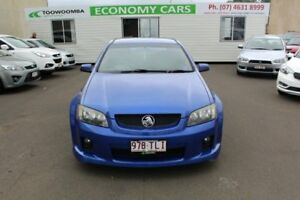 2006 Holden Commodore VE SV6 Blue 5 Speed Sports Automatic Sedan