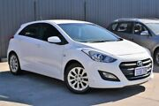 2015 Hyundai i30 GD3 Series II MY16 Active White 6 Speed Sports Automatic Hatchback Midvale Mundaring Area Preview