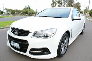 2014 Holden Commodore VF SV6 White 4 Speed Sports Automatic Utility West Footscray Maribyrnong Area Preview