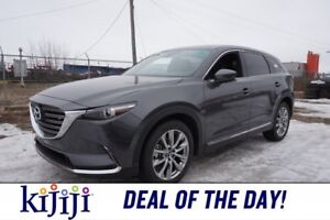 2018 Mazda CX-9 AWD SIGNATURE LEATHER HEATED SEATS, SUNROOF, 3RD