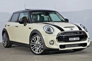 2016 Mini Hatch F55 Cooper S Pepper White 6 Speed Sports Automatic Hatchback Alexandria Inner Sydney Preview