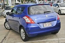 2012 Suzuki Swift FZ GL Blue 4 Speed Automatic Hatchback Mount Gravatt Brisbane South East Preview