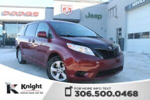 2012 Toyota Sienna CE - CD Player - Room for 7 - Keyless Entry