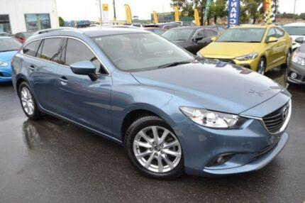2014 Mazda 6 GJ1021 MY14 Touring SKYACTIV-Drive Blue 6 Speed Sports Automatic Wagon