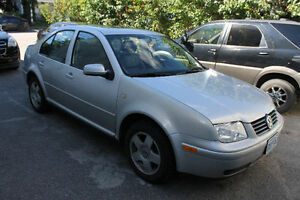 2000 Volkswagen Jetta with Winter Tires