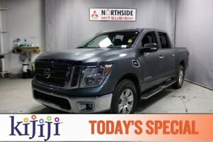 2017 Nissan Titan 4WD CREWCAB SV Accident Free,  Bluetooth,  A/C