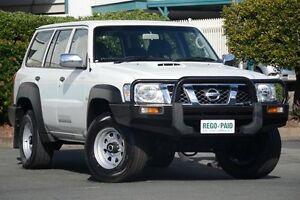 2011 Nissan Patrol GU 7 MY10 DX White 4 Speed Automatic Wagon Acacia Ridge Brisbane South West Preview