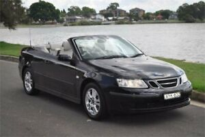 2006 Saab 9-3 MY06 Linear Black 5 Speed Auto Sensonic Convertible