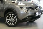 2016 Nissan Juke F15 Series 2 ST X-tronic 2WD Gun Metal 1 Speed Constant Variable Hatchback Rockingham Rockingham Area Preview