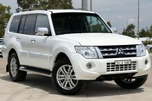 2014 Mitsubishi Pajero NW MY14 Exceed White 5 Speed Sports Automatic Wagon Penrith Penrith Area Preview