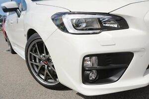2015 Subaru WRX V1 MY15 STI AWD Premium White 6 Speed Manual Sedan Willagee Melville Area Preview